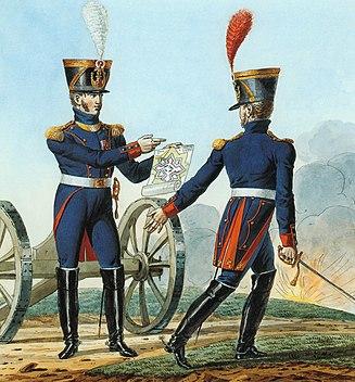 Grande Armée - Artillery-Colonel and Chef de bataillon