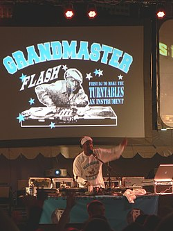 Grandmaster Flash all'Ingenuity Festival