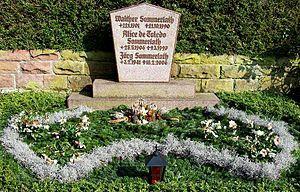 Alice Sommerlath - Grave of Walther and Alice Sommerlath