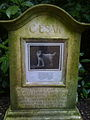 Grave at the Royal Pet Cemetery, Marlborough House.jpg