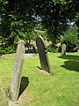 Gravestones in Eyam Churchyard - geograph.org.uk - 883592.jpg
