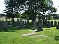 Graveyard, St Michael, Aughton Parish Church - geograph.org.uk - 535489.jpg