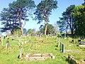 Graveyard at Sunnyhill - geograph.org.uk - 1277237.jpg