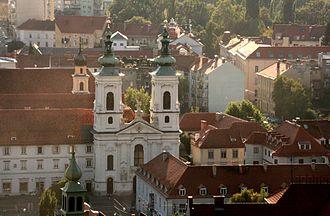 Lend (Graz) - Church Mariahilf (2008).