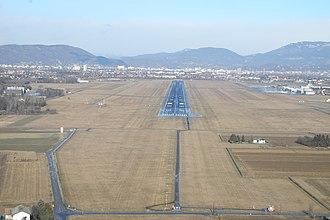 Graz Airport - Aerial overview of Graz Airport