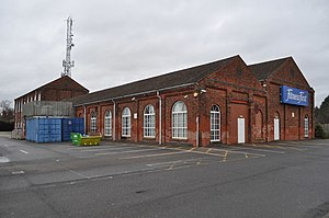 Great Northern Railway (Great Britain) - The former GNR works at Boston, Lincolnshire