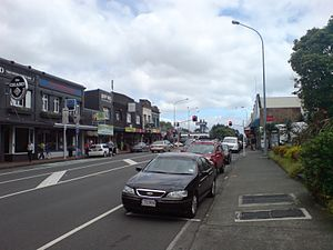 Great South Road, New Zealand - These days, long parts of Great South Road's length are urban or suburban.