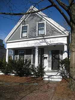 Greek Revival Cottage, 59 Rice Street, Cambridge, MA - IMG 4643.JPG