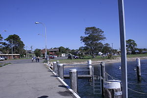 Greenwell Point - Greenwell Point from the east