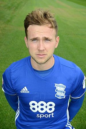 Greg Stewart (footballer) - Stewart with Birmingham City in 2016
