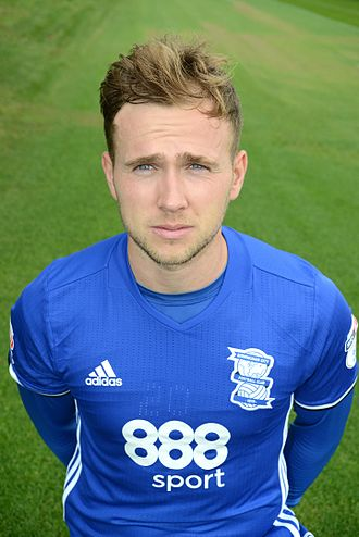Greg Stewart (footballer) - Stewart with Birmingham City in 2016