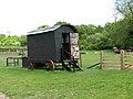 Gressenhall Farm - shepherd's hut - geograph.org.uk - 1309757.jpg