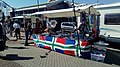 Groninger flag market stand, Paasmarkt Groningen (2019).jpg