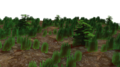 Ground Green plants graphics 3D render.png