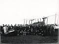 Group posing in front of an Avro 504 K aeroplane, 1920.jpg