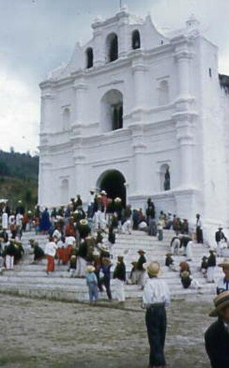 Chajul - Church in Chajul in the 1950s