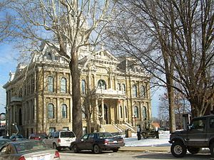 Guernsey County, Ohio - Image: Guernsey County Courthouse Cambridge Ohio