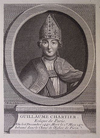 Guillaume Chartier (bishop) - Image: Guillaume Chartier