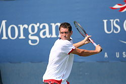 Guillermo Garcia-Lopez at the 2010 US Open 01.jpg