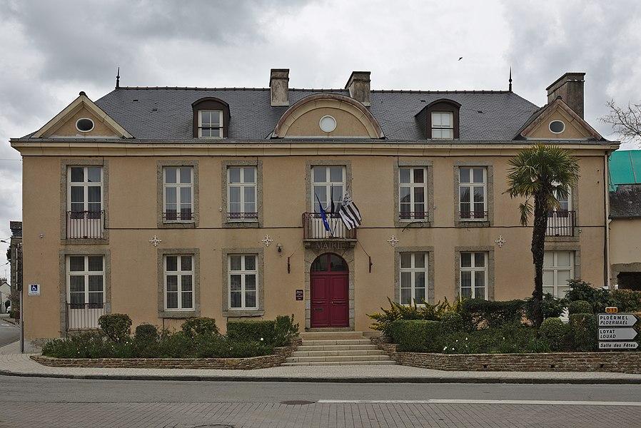 Mairie de Guilliers.