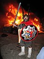 Guizer Jarl at Norwick Up Helly Aa - geograph.org.uk - 518638.jpg