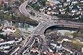Gustav-Heinemann-Brücke Werden Luftaufnahme 2014 SW.jpg