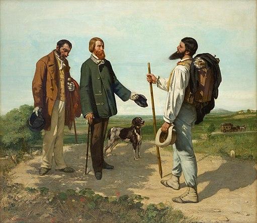 Gustave Courbet - Bonjour Monsieur Courbet - Musée Fabre