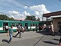 HÉV spoorlijn Budapest Szentlélek tér 01.JPG
