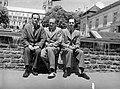 Három férfi. Fortepan 11748.jpg
