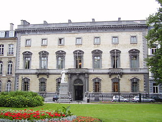 Marquess of Assche - The palace of the Marquess of Assche, in Brussels  by Balat.