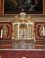 Höxter, Corvey, St. Stephanus und Vitus, Seitenaltar links, Tabernakel (1).JPG