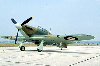 Hawker Hurricane variants - Hawker Hurricane IIA at the National Museum of the United States Air Force
