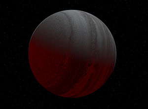 Hot Jupiter - An artist's impression of HD 188753, a hot Jupiter planet