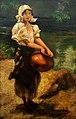 HENRIQUE BERNARDELLI (1858 - 1936), Moça na fonte, óleo sobre tela, 27,3 x 18 cm, Photo Gedley Belchior Braga.jpg