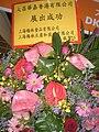 HKCEC WC HKTDC Food Expo 2009 DKSH Shanghai Maling B2 flowers.JPG