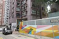 HK 上環 Sheung Wan 太平山街 Tai Ping Shan Street 四方街 Square Street 豪景閣 Rich View Terrace colourfull wall Sept 2017 IX1.jpg