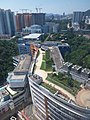 HK 九龍塘 Kln Tong 達之路 Tat Chee Avenue 香港城市大學 HKCityU 劉鳴煒學術樓 Lau Ming Wai Academic Building view Tat Chee Avenue September 2019 SSG 23.jpg