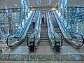HK Central The Center 中環中心mall interior office escalators 中環中心 Sep-2014.JPG