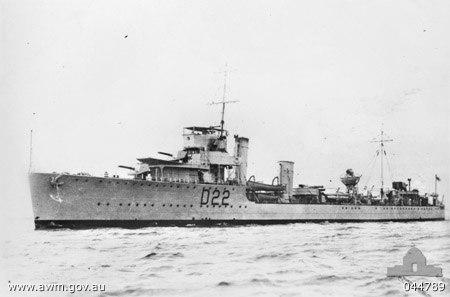 HMAS Waterhen (AWM 044789)