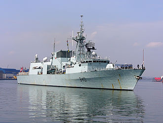 HMCS St. John's - HMCS St. John's at Gdynia, Poland in 2007