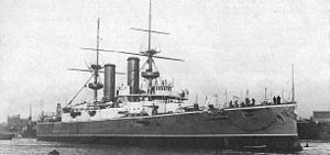Antony Gibbs & Sons - HMS ''Triumph as completed January 1904