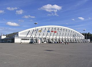 ice hall in Tampere, Finland