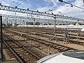 Hakata General Train Base from platform of Hakata-Minami Station 7.jpg
