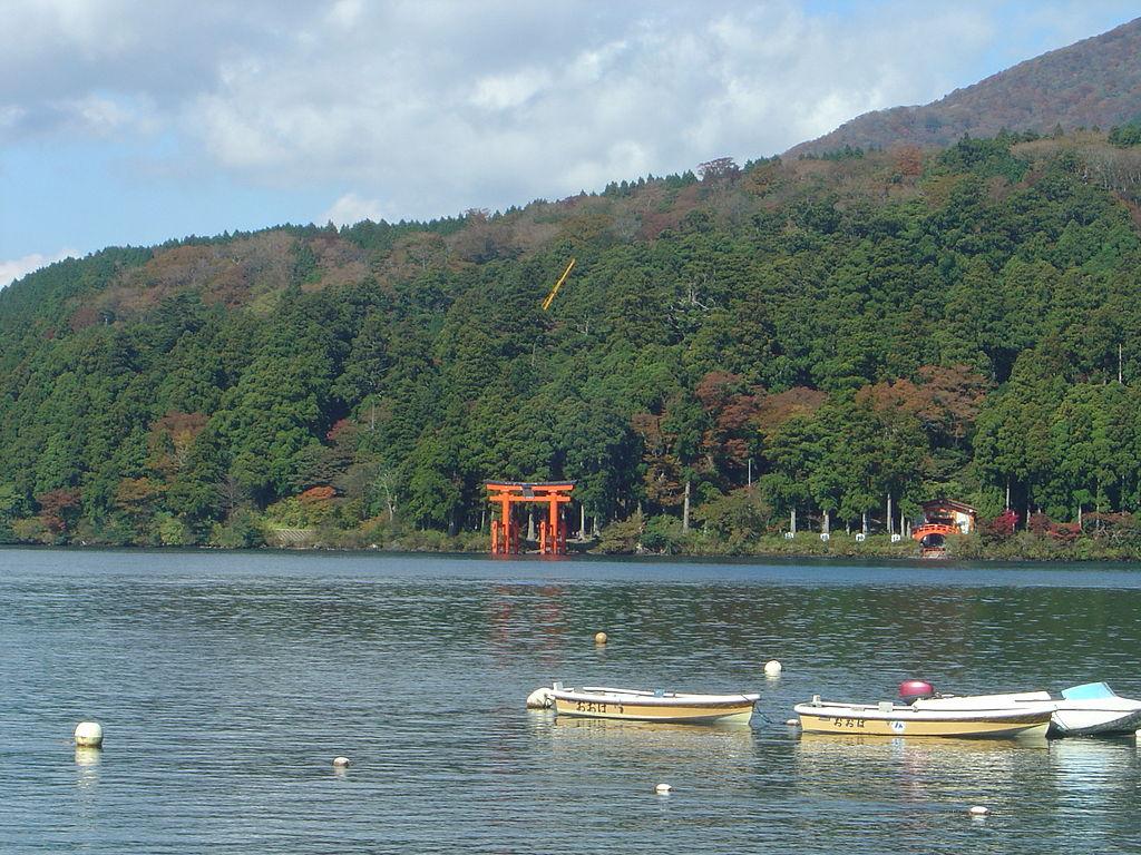 Hakone Ashinoko lake dsc05497