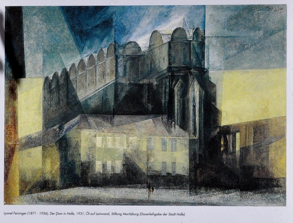 Lyonel Feininger 1200px-Halle_Dom_Infotafel_Feininger_detail