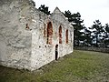 Haluzice-zrúcanina opevneného kostola - panoramio - Michal Jakubský (2).jpg