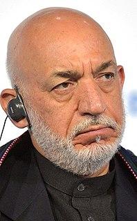 Hamid Karzai President of Afghanistan