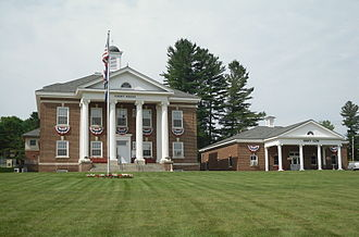 Hamilton County, New York - Image: Hamilton County Courthouse and Clerks Office NY Aug 10