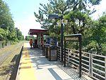 Hammonton station platform, August 2014.jpg