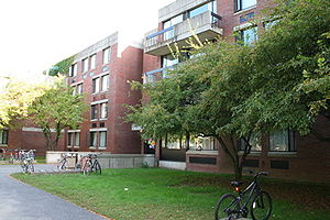 Hampshire College - Dakin House dormitory